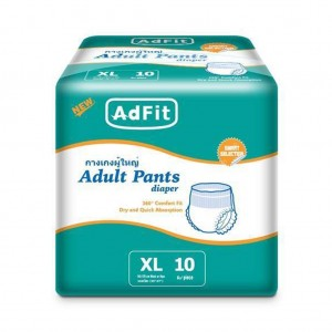 ADFIT ADULT DIAPERS XL10
