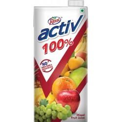 REAL ACTIV 100% MIXED FRUIT JUICE 1L