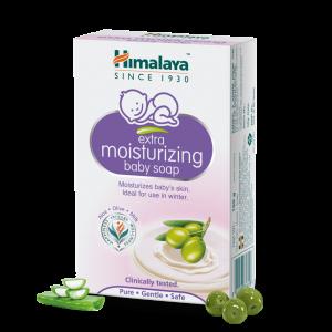 HIMALAYA BABYCARE EXTRA MOISTURIZING BABY SOAP 125GM