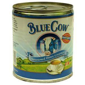 BLUE COW SWEETENED DAIRY CREAMER 390GM