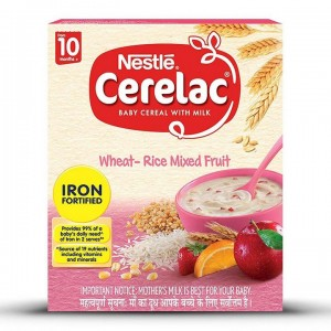 NESTLE CERELAC STAGE 3 10 MONTHS+ WHEAT RICE MIXED