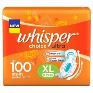 WHISPER CHOICE ULTRA XL6 PADS
