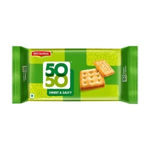 BRITANNIA 5050 SWEET & SALTY BISCUITS 150GM