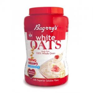 BAGRRYS WHITE OATS 500GM JAR