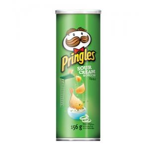 PRINGLES SOUR CREAM & ONION 147 GM