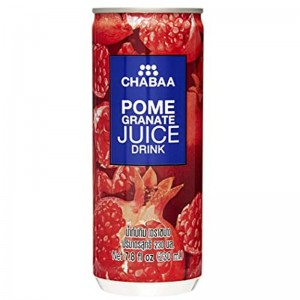CHABAA POMEGRANATE JUICE DRINK CAN 230ML