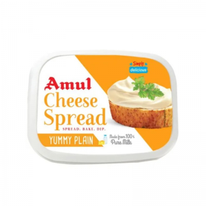 AMUL CHEESE SPREAD PLAIN 200GM