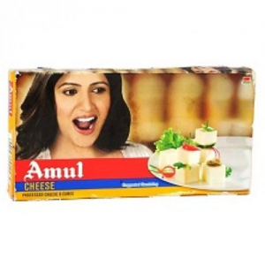 AMUL CUBE PROCESSED CHEESE 200GM