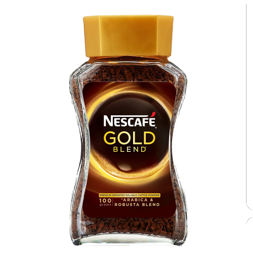NESCAFE GOLD BLEND COFFEE JAR 100GM 1x12