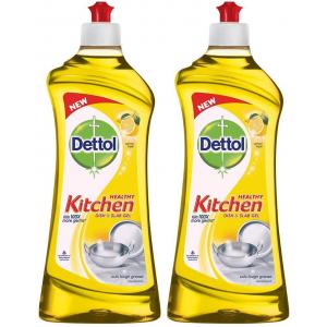 DETTOL KITCHED DISH AND SLAB GEL LEMON 750ML