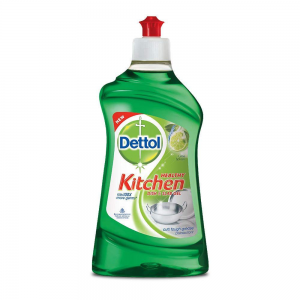 DETTOL KITCHEN DISH AND SLAB GEL LIME 400ML