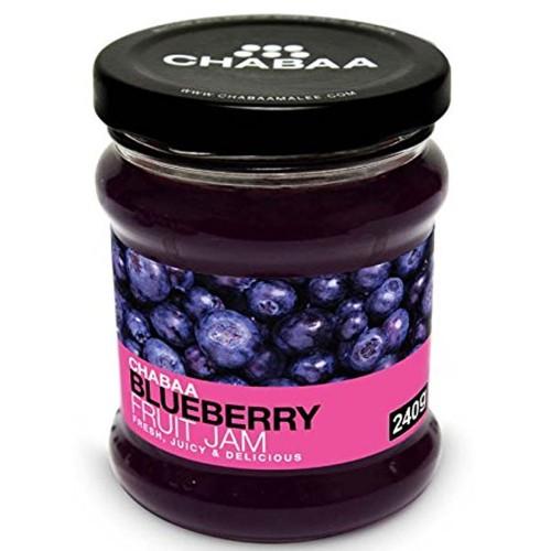 CHABAA BLUEBERRY FRUIT JAM 240 GM